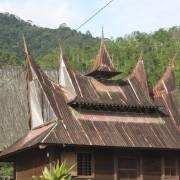 Rumah adat Mandailing di Desa Simpang Banyak